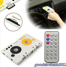 Car Off-Road Cassette Stereo Tape SD MMC CD MP3 Player Adapter & Remote Control