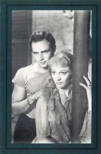 Nostalgia Postcard Marlon Brando & Vivien Leigh 1951 Reproduction Card NS52