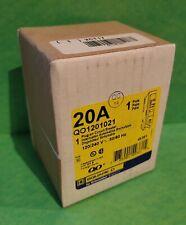 Square D Qo1201021 20 Amp Shunt Trip Miniature Circuit Breaker 785901493815