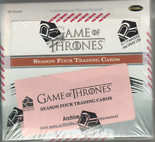 Game of Thrones  - Season 4  - Factory Sealed Archive Box