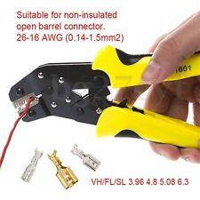 Ratchet Crimping Pliers Pin Plug Terminal Clamp Multifunction Tool JX-1601-08