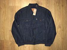 Levi's Denim Blue Quilted Jacket Medium (M) BNWT RRP £115