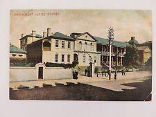 .EARLY 1900'S SYDNEY PARLIAMENT HOUSE POSTCARD