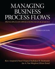 Managing Business Process Flows by Ravi Anupindi, Sudhakar D. Deshmukh, Jan...