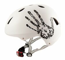 "Sport Direct™ ""The Hand™"" White Bicycle Bike Cycle BMX Helmet"