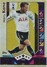2016 / 2017 EPL Match Attax Limited Edition Gold (LE1) Harry KANE Tottenham