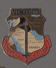 Pin's Armée / victory de l'opération militaire desert storm (guerre d'Irak)