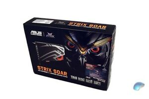 Asus ROG STRIX Strix Soar 7.1 Gaming Soundcard BNIB NEW PCI-E
