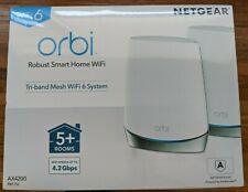 NETGEAR Orbi AX4200 RBK752 Tri-Band Mesh Wi-Fi 6 System (Set of 2)