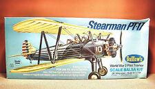 GUILLOWS STEARMAN PT-17 MODEL KIT # 803