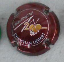 Capsule de champagne An 2000 N°615 personnalisée Liebart C cote 10