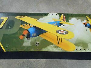 GWS PT- 17 Airplane NIB - WPS BLUE & YELLOW FOAM 400C MOTOR PARK FLYER KIT