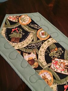 Handcrafted-Quilted Table Runner - St. Patrick's - Looking for a Pot of Gold