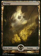 Swamp foil-versión 2 (full art) | nm/m | Battle for Zendikar | Magic mtg #261