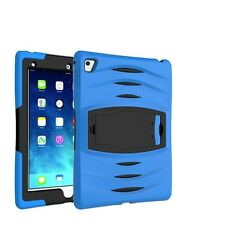 Heavy Duty Shockproof Covers Silicone Stand Case For iPad Samsung Galaxy Tablets