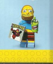 LEGO MINIFIGURE SIMPSON serie 2 71009  COMIC BOOK GUY new in opened bag