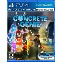 Concrete Genie (Sony PlayStation 4 PS4)  Brand New Factory Sealed