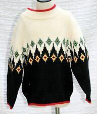 NWT Gymboree Boys Sweater sz 5 Grizzly Peak 2004 Black/White Diamond