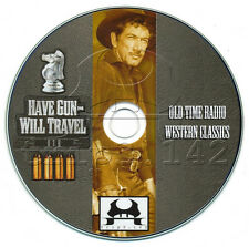 HAVE GUN WILL TRAVEL (OTR) Complete Old Time Radio Western Collection (mp3 CD)