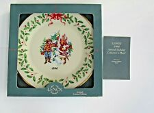 Lenox 1996 Letter Of Santa Holiday Plate - New in Box - Box not perfect