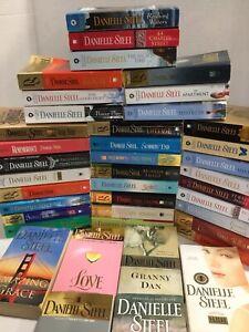 Lot of 10 Danielle Steel Romance Mass Market Paperback Books MIX