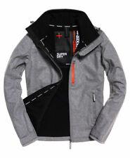 New Mens Superdry  Sd-Windtrekker Jacket Light Grey