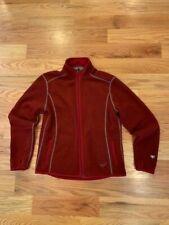 Kuhl Womens Alpaca Fleece Full Zip Jacket Size L (See sizing measurements)