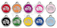 Kitten Enamel/Solid Stainless Steel Engraved ID Cat Tag