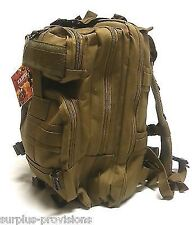 US Spec Military Type Transport Backpack Tan - Day Pack #RN255