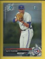 Nate Pearson RC 2017 Bowman Draft Chrome Prospects Rookie Card Toronto Blue Jays