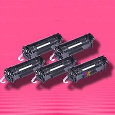 5 Non-OEM Alternative TONER for HP Q2612X 12X LaserJet 1020 1022 1022n 1022nw