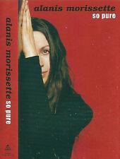 Alanis Morissette So Pure CASSETTE SINGLE 2TRACK Rock inc live acoustic 1999