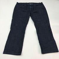 Joe's The Brixton Denim Jeans Mens 40 Dark Navy Straight Narrow Stretch Washed