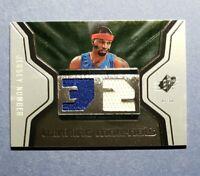2007-08 SPx, Richard Hamilton, Detroit Pistons Dual Materials Game Used Jersey