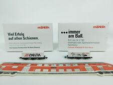 BC524-0,5# 2x Märklin mini-club Z/DC Vagone per container Norimberga: 1990+1992