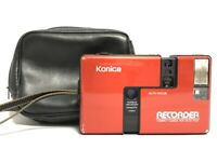 【RARE RED Near MINT】KONICA RECORDER Half Frame 35mm Film Camera Point & Shoot JP