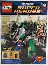 SEALED 6862 LEGO Superman vs Power Armor Lex with Wonder Woman 207 pc RETIRED