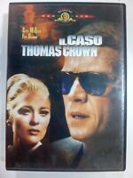 IL CASO THOMAS CROWN DVD THRILLER STEVE Mc QUEEN FAYE DUNAWAY DVD