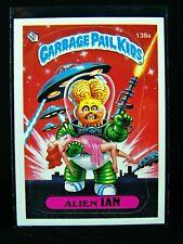 GARBAGE PAIL KIDS 1986 4th Series 138a Alien Ian BLANK/White BACK Error Card OS4