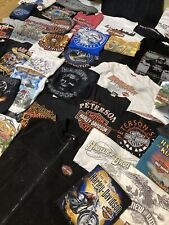 Hd Harley-Davidson Lot Of 50 Collectible/Novelty Shirts Adult Size S/M/L/Xl