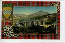 (Gt206-431) ROYAL STEWART TARTAN, Holyrood Palace, EDINBURGH c1910 Unused  EX
