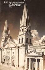RPPC Exclusivas Julio, La Catedral, Guadalajara, Jalisco, Mexico 1946 Postcard