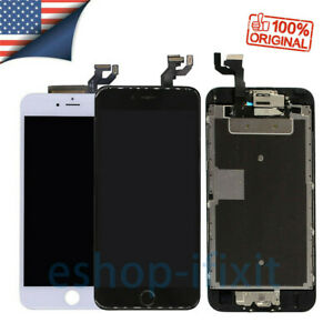 For iPhone 6S 6 7 8 Plus Replacement LCD Display Touch Screen Home Button Camera