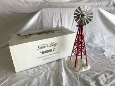 Dept 56 the Original Snow Village Red Windmill  # 54569