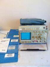 Tektronics 2465 Dms Analog Oscilloscope With Several Manuals S6092