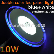 10W LED Round Panel Light Ceiling POP Down Indoor Light LED 3D Effect Lighting