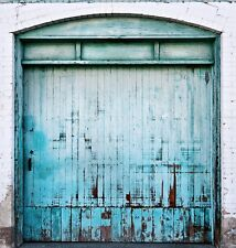 "Photo Background - Silverlake ""Blue Door"" Colorsmack Wrinkle Free Cloth - 8x8"