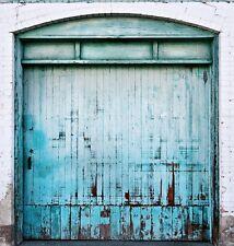 "Photo Background - Silverlake ""Blue Door"" Colorsmack Wrinkle Free Cloth - 8x8"