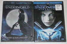 Horror DVD Lot - Underworld (New, plastic torn) Underworld Evolution (New, FS)