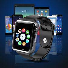 A1 MONTRE BLUETOOTH GSM SIM SMARTWATCH ANDROID IPHONE SAMSUNG WHATSAPP silver